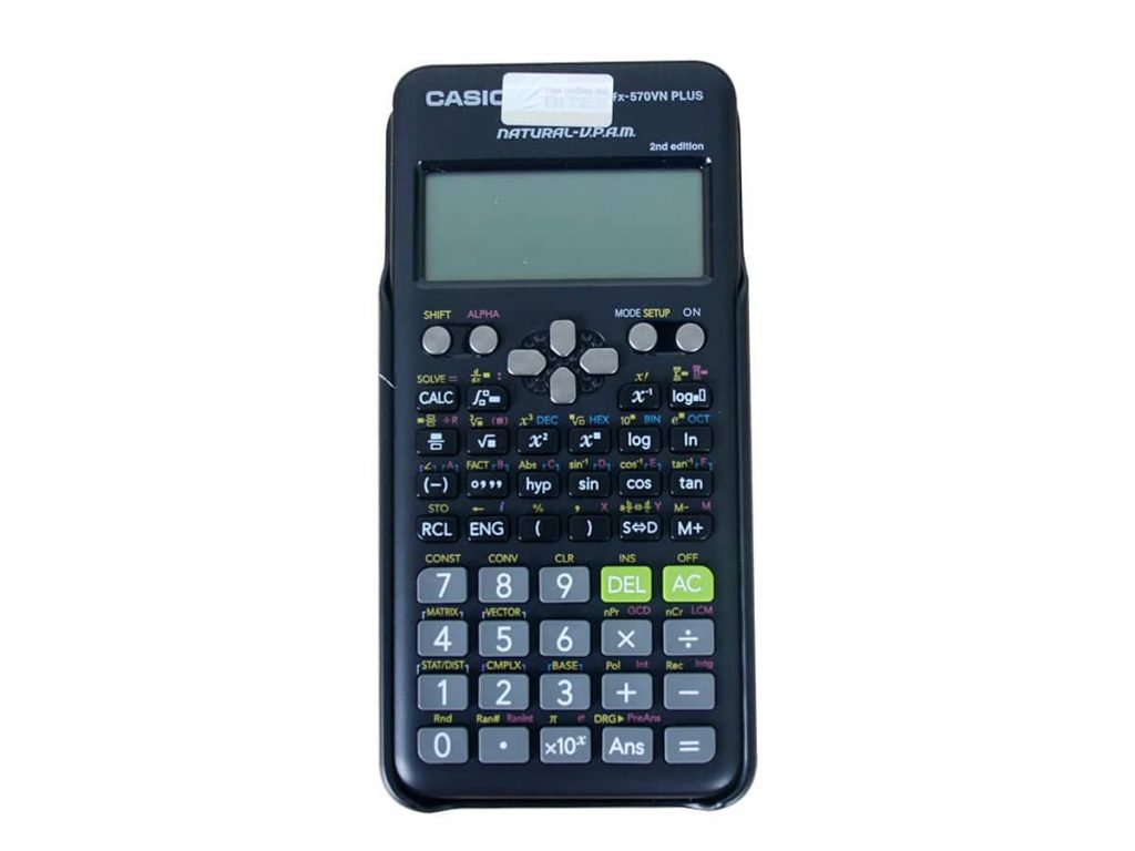 máy tính bỏ túi casio fx-570vn plus