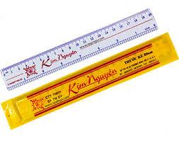 Thước cứng 20 cm Kim Nguyên