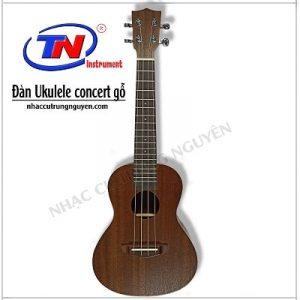 Đàn Ukulele concert gỗ